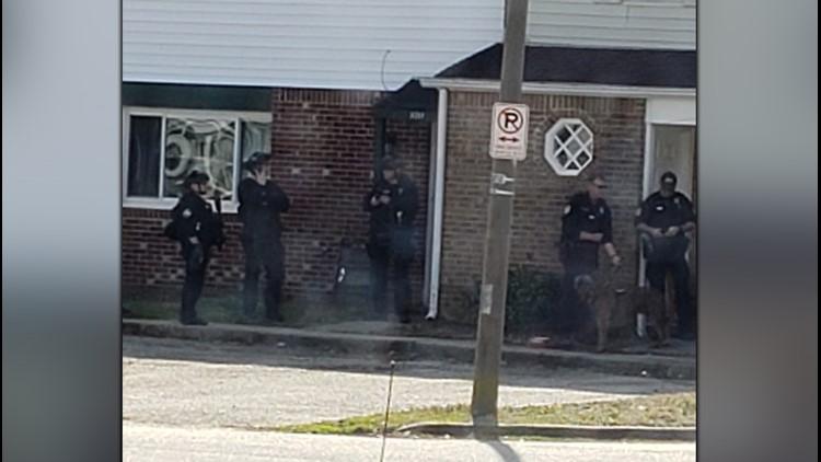 vb police chase swat