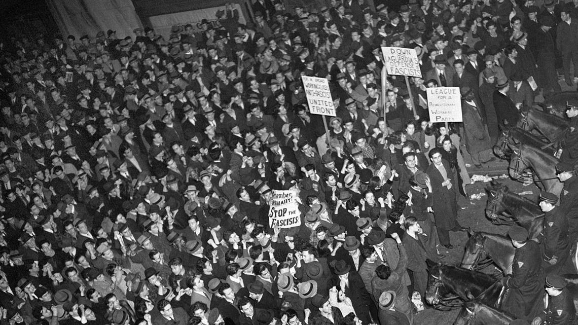 Documentary about 1939 nazi rally in new york up for oscar - Madison square garden nazi rally ...