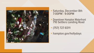 Hampton Holly Days Parade brings holiday fun Saturday