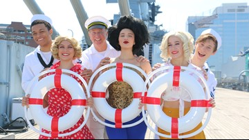 'Dames at Sea' to perform on USS Wisconsin