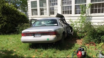 Woman dies after car crashes into home in Accomack County