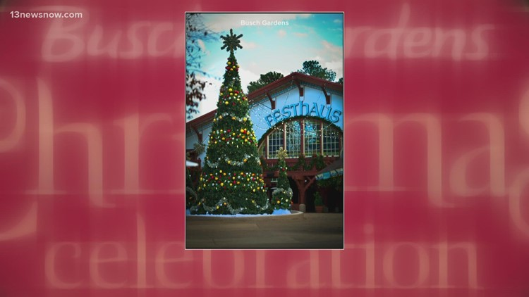 Christmas Town at Busch Gardens Williamsburg is back in 2021