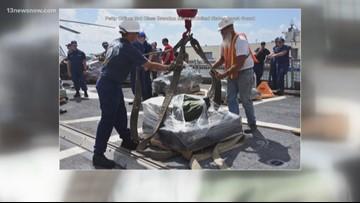 Portsmouth-based Coast Guard crew seized drugs worth $62.5 million