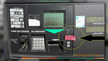 Suffolk Police: Be alert for possible credit card skimmers