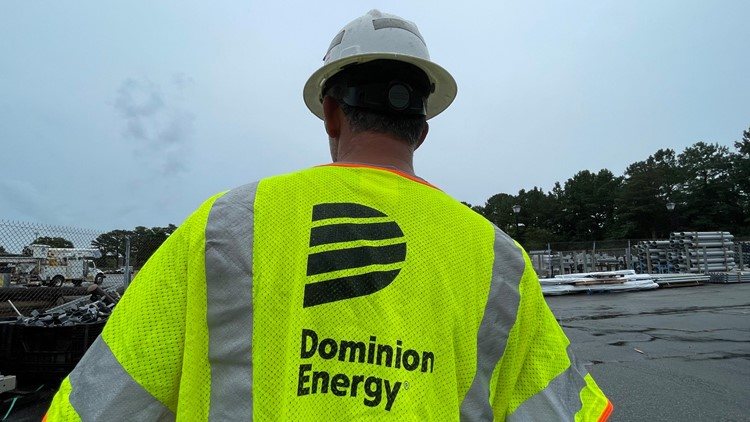 Dominion Energy works on restoring power outages in Tropical Storm Elsa's wake