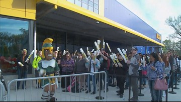 It's here! Norfolk IKEA opens with festivities, giveaways