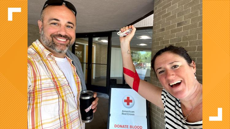 MAKING A MARK: Virginia Beach mom gives back after blood donations saved her life