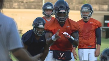 UVA looking to improve as it decides who takes the lead with running game.
