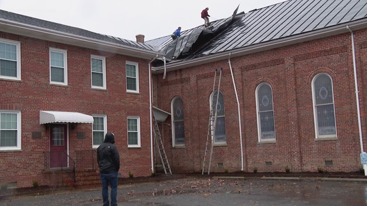 EF-0 tornado touched down in Isle of Wight County; church damaged in Windsor