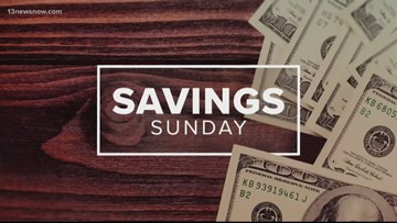 Savings Sunday deals for the week of July 21, 2019