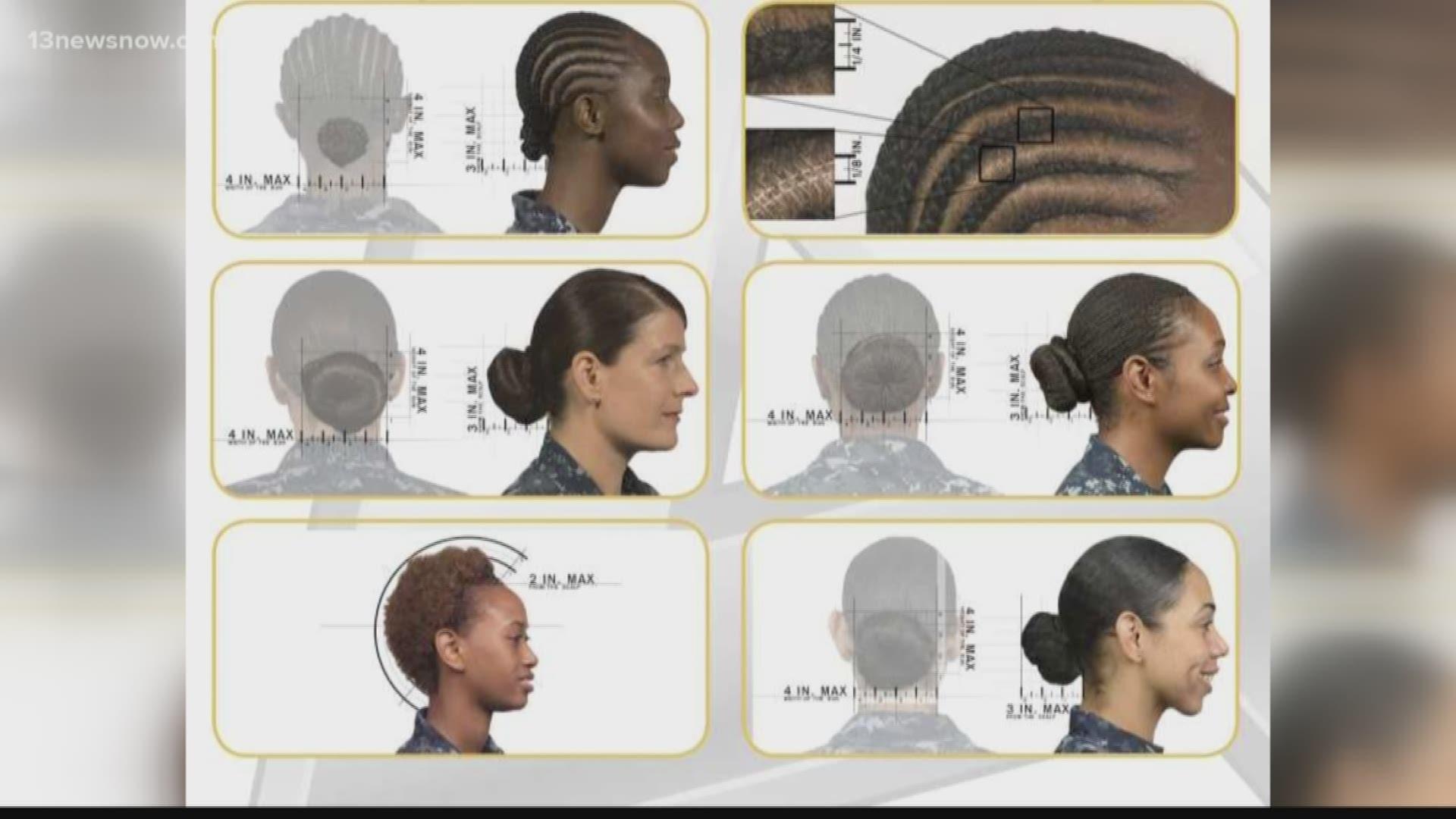 Excellent Navy Now Allows Women To Wear Ponytails Lock Hairstyles Schematic Wiring Diagrams Phreekkolirunnerswayorg