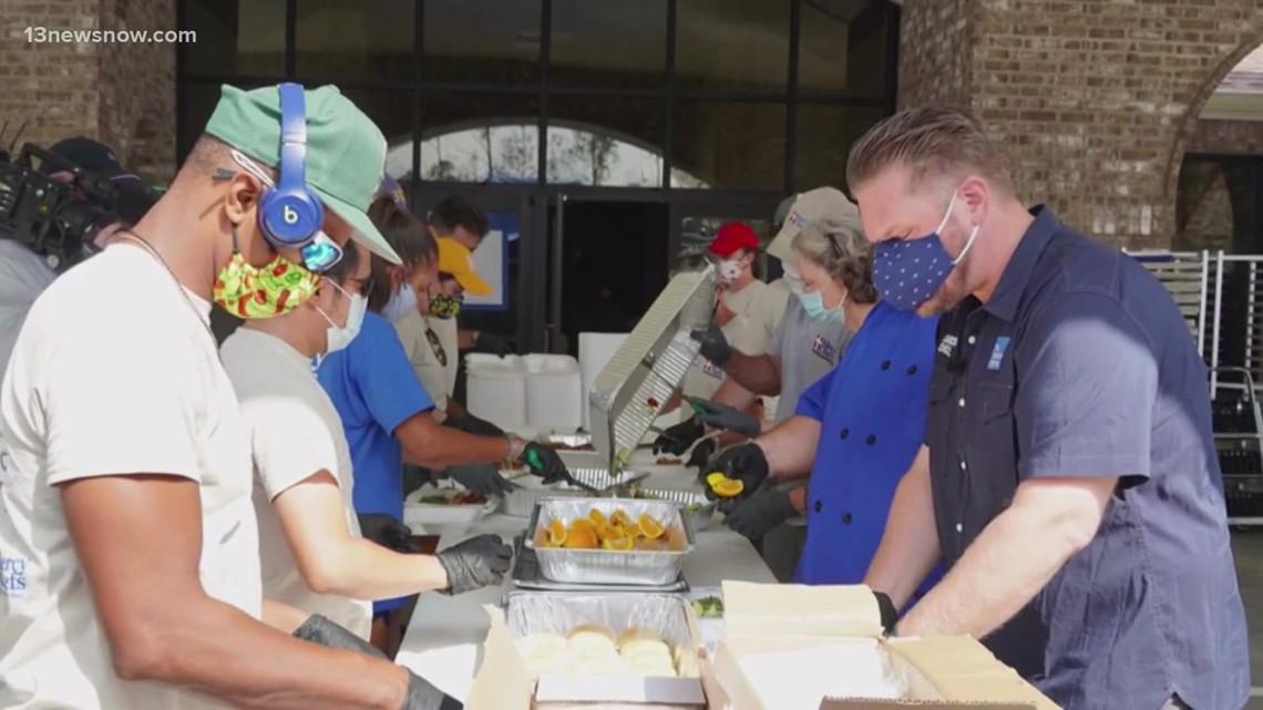 Mercy Chefs Crews Returning Home After Hurricane Ida Support