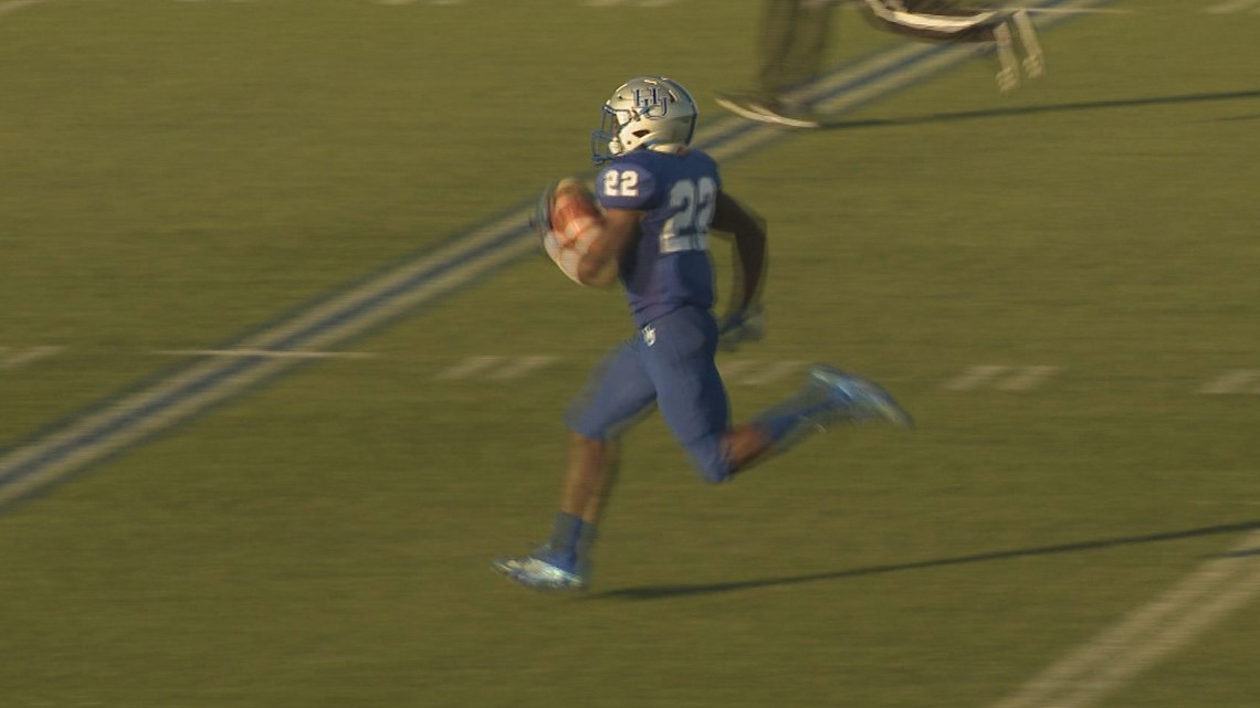 Pirates get away from Panthers 42-28