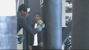 A family affair with boxing