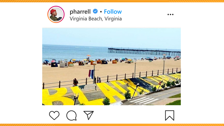 Pharrell Asks Virginia Beach To Make