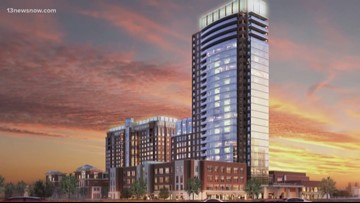 Fort Norfolk revitalization continues with new tower