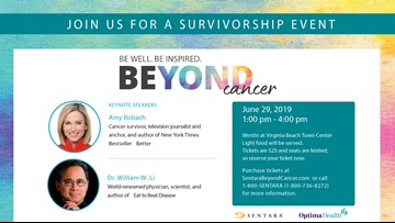 'Beyond Cancer' survivorship event tickets