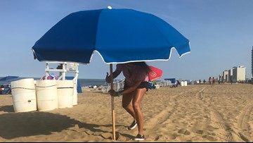 Senator wants beachgoers protected from flying umbrellas