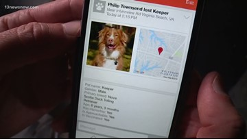 Norfolk Animal Care and Adoption Center using facial recognition for lost pets