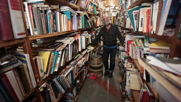 Norfolk bookstore cluttered in charm