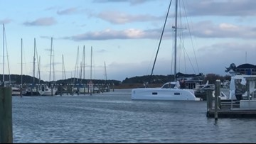 Climate activist Greta Thunberg leaves to Europe from Hampton aboard sailboat