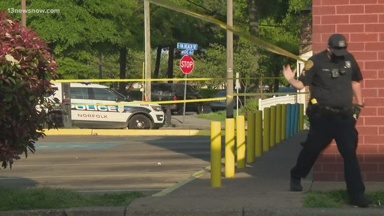 Norfolk police search for suspect after 67-year-old shot, killed