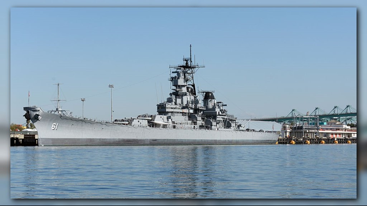 USS Iowa 30th Anniversary Memorial Service held at Naval Station Norfolk