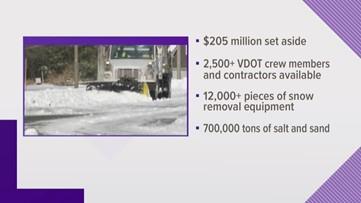 NEWSMAKER: VDOT prepares for winter weather