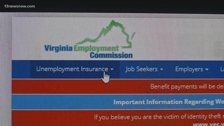 Virginia unemployment workarounds