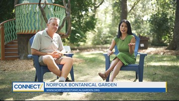 CONNECT: Norfolk Botanical Garden tips on dogs and gardening