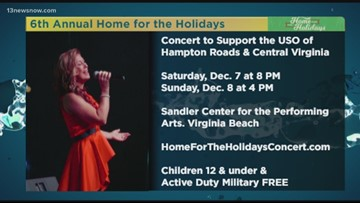 6th Annual Home for the Holiday concert this weekend
