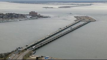 Hampton Roads Bridge-Tunnel to close for tide gate test