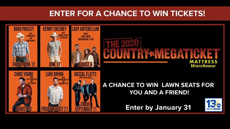 Country Megaticket sweepstakes rules