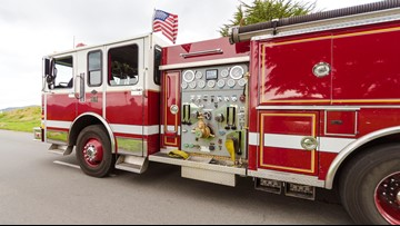 Norfolk kitchen fire sends one person to the hospital