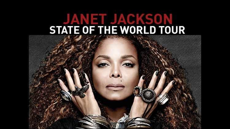 Janet Jackson announces tour stop in Rogers, Ark