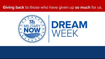 Military Dream Week: Help 13News Now surprise local service members!