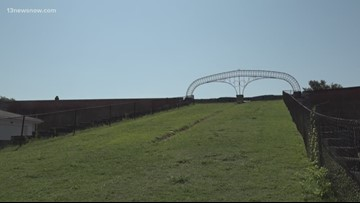 Jefferson Davis's name removed from Fort Monroe arch