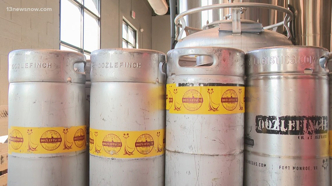 Aluminum costs adding up for breweries and cideries in Hampton Roads