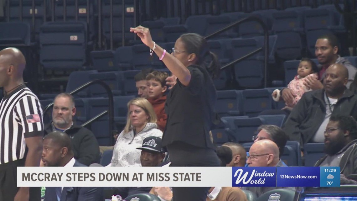 McCray-Penson steps down as head coach at Mississippi State