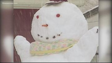 It's been three decades since Hampton Roads had snow in mid-November