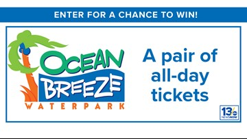 Ocean Breeze sweepstakes