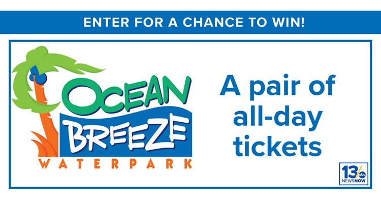 Ocean Breeze Sweepstakes rules