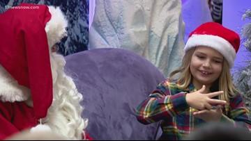 Signing Santa returns to MacArthur Center