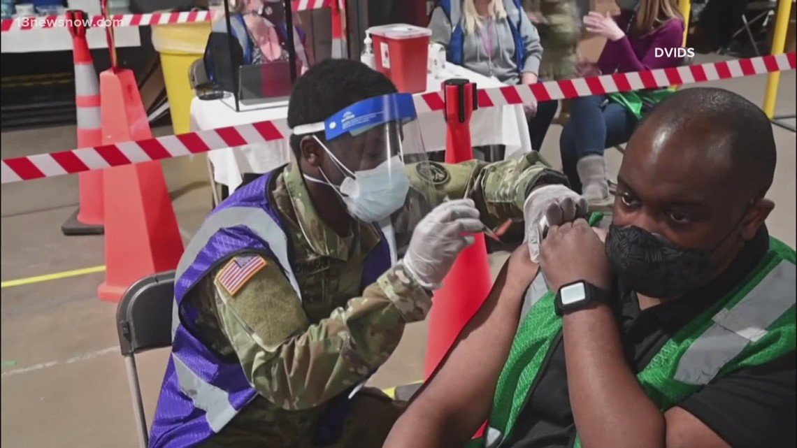 National Guard's changing role as vaccine rolls out