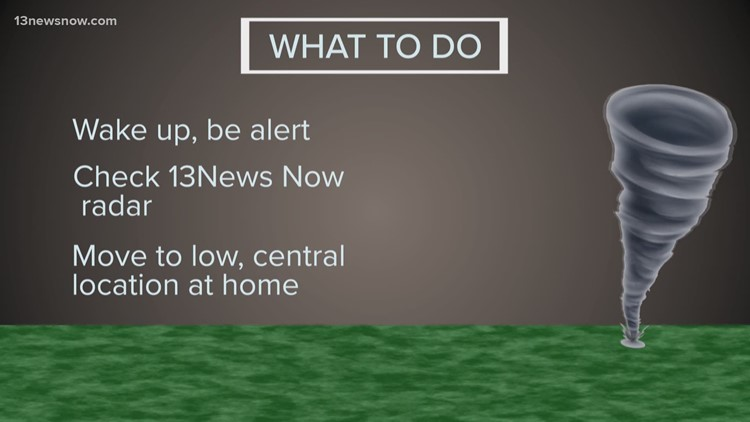 What to do during a Tornado Warning