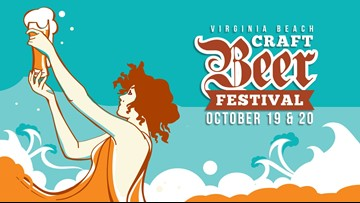 Sample more than 60 beers at the Virginia Beach Craft Beer Festival this weekend