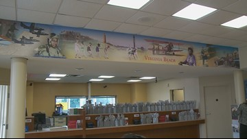 New murals unveiled at local banks