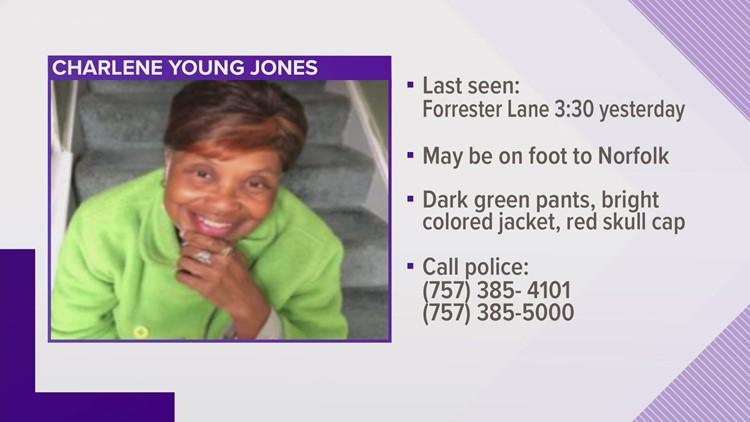 Senior alert issued for missing Virginia Beach woman