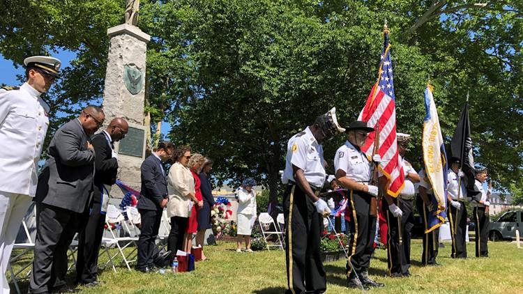 Norfolk holds Memorial Day ceremony at site dedicated to Black Civil War veterans