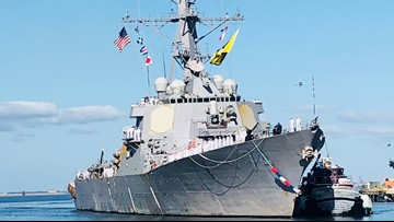 USS McFaul returns to Norfolk after 8-month deployment